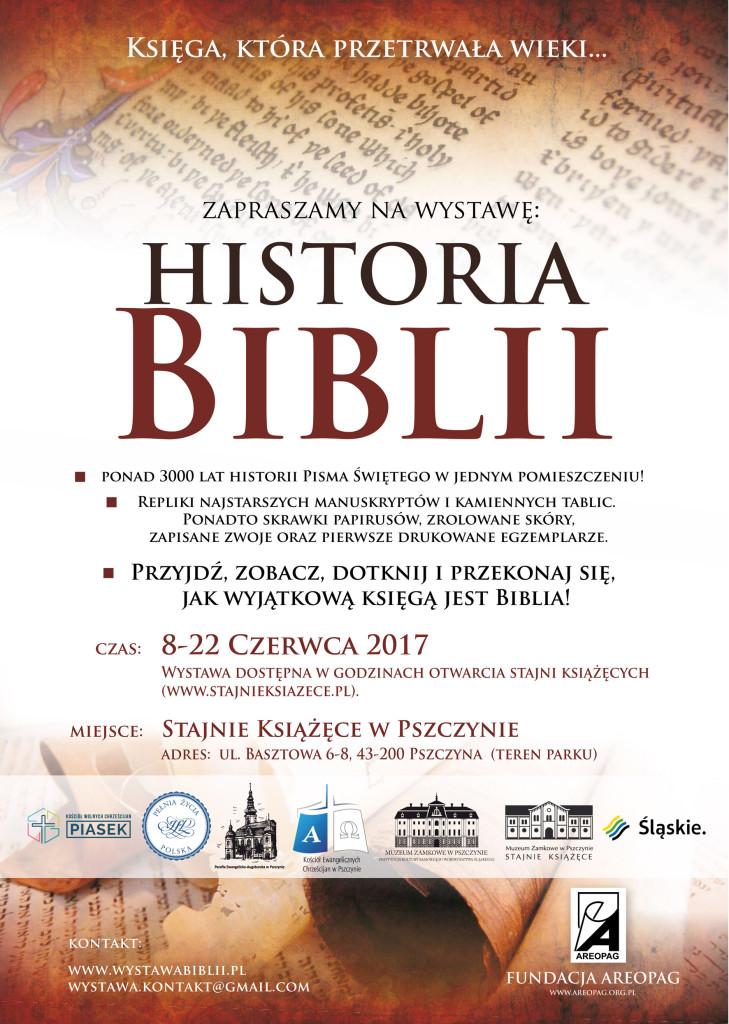 historia Biblii Pszczyna_plakat druk 9.06 mały